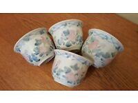 30 x Small Floral Ceramic Pots