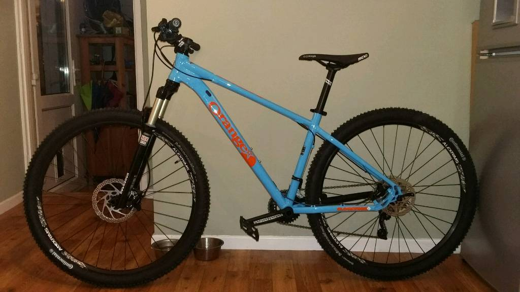 Orange Clockwork mountain bike