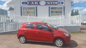 2014 Mitsubishi Mirage 5 SPEED GAS SAVER!! ALLOYS CD/AUX!!