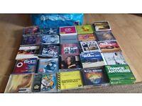 large bag of cd albums