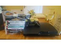 Playstation 3 and 9 games *MUST GO TODAY*