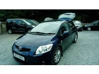 09 TOYOTA Auris 1.6 TR 5 Door 6 Speed 2 Keys Only 78000 Mls Can be seen anytime