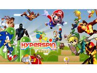 8tb Hyperspin Arcade - 304 x System wheels (Retro, Classic Arcade games)