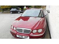 Rover 75 Connoissuer SE CDT Copper Leaf Red with Sandstone Cream Leather Interior 2.0 Litre Diesel