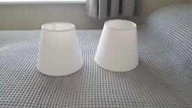 Two Brand new Bespoke Empire Lamp Shades,