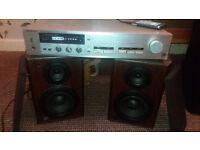 Technics amp+speakers