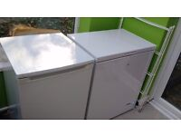Small fridge and small chest freezer for sale