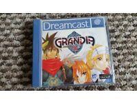 sega dreamcast Grandia 2 boxed with instructions