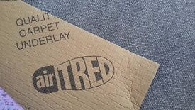 Premium Quality 12mm Airtred underlay to cover 34 square metres. Offers considered.