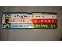 Box Set of 3 Dog Books - New