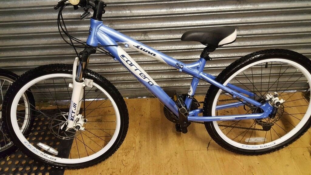 "Carrera Luna Girls Mountain Bike, 24"" frame. Great spec. Used good condition, viewing welcome"
