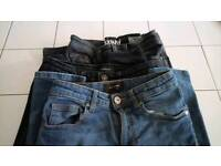 Boys jeans river island and next