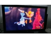 Panasonic 42 inch plasma tv with remote and stand