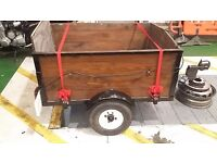 Grate little car trailer