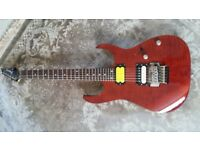 Ibanez rg320 with upgrades