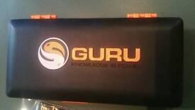 NEW X2 guru hook link box and 5 packets of guru method hook links