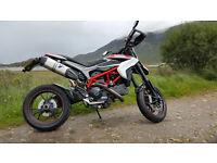 Ducati Hypermotard 821 SP w/Full Titanium Termignoni Exhaust System and more (Dream Spec)