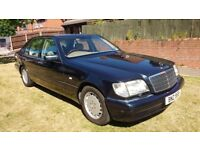 W140 1999 Mercedes S320 Limo, 66,000 miles, Full History, 1 Previous Owner