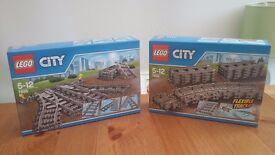 LEGO city train track & points - NEW!
