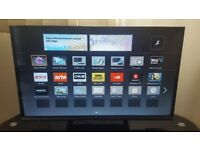 "*ALMOST BRAND NEW * PANASONIC 32 "" INCHES SMART LED TV+ 1080P FREETIME APPS PLATFORM."
