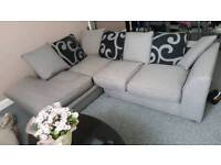 Corner couch for sale grey