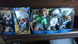 5 ASSORTED MEERKAT TV ADVERT TOYS AD