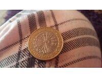 Very rare 2pound coin