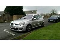 Renault Clio 182 Rs Sport with cup pack