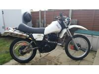Yamaha XT 550 year 1992 MOT,d until February 19