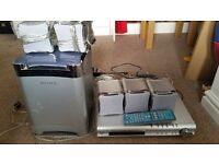 Sony dvd player & surround sound speakers/subwoofer