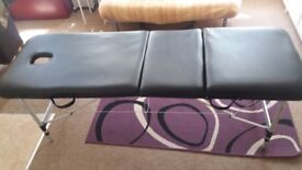 Massage,tattoo or therapy couch bed