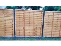 Fence panel and 2 posts ( sold pending collection)