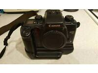 Canon eos 55 body only with original grip.
