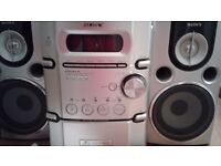 Sony stereo Audio System/ CD/ Cassettes/MP3 playback.
