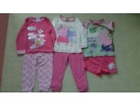 18-24 months peppa pig pyjamas