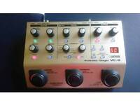 Boss ve guitar pedal