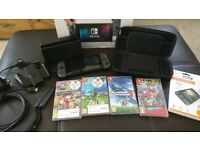 32GB Nitendo Switch Console, Switch Case, Switch Games, Accessories
