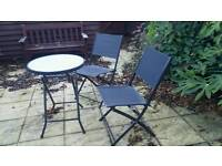 Garden Chairs & Table