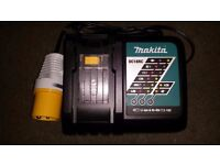 Makita DC18RC 18 v Dual Rapid Fastest LXT Battery Charger 110 volt Brand New 2017