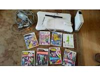Wii console and games etc