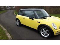 Mini cooper full years mot