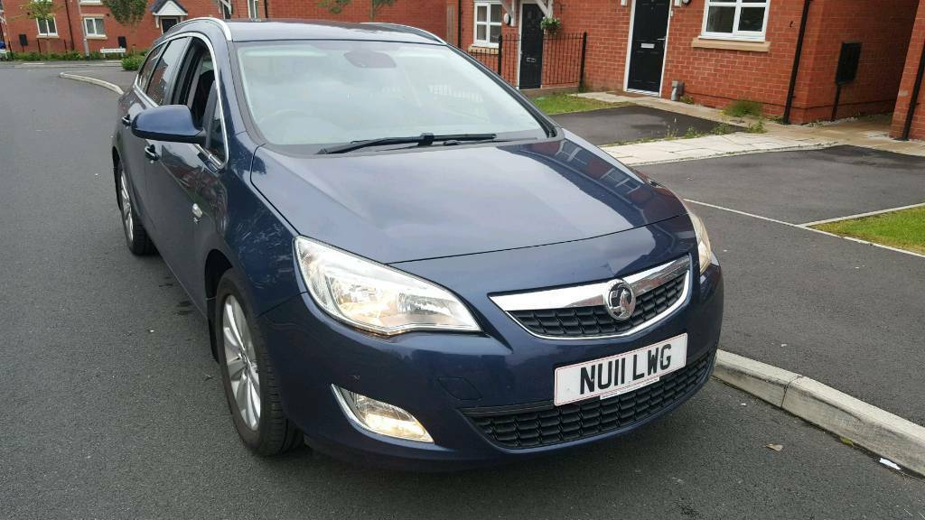 Vauxhall Astra 1.7 CDTI 125 BHP