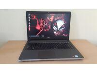Gaming Dell Inspiron Laptop 15,6 FHD Matt Screen i5up to 2.80 GHz ,8Gb Ram 1TB HDD Radeon 4GB Win 10