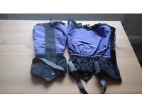 Two pairs gaiters. Suitable men or women.