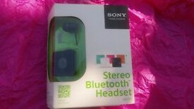Bluetooth Stereo Headset from SONY - Brand New in Box