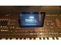 Korg pa4x 76 keys in box