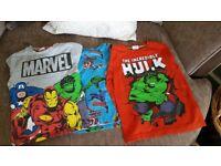 Marvel long sleeve tops x3