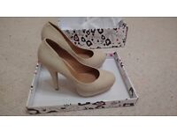 Ladies Nude Court Shoe
