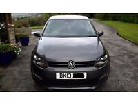 VW Polo Match DSG 5 Door Automatic Very low genuine mileage.
