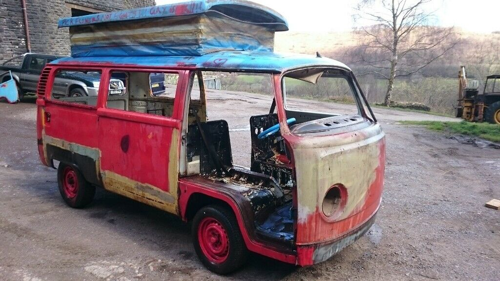 Volkswagen T2 - 1973 - Rolling Shell w/ Engine Parts - Logbook Present | in  Caerphilly | Gumtree